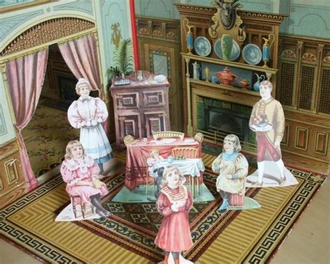 victorian paper doll house blog archives 19th century paper dolls