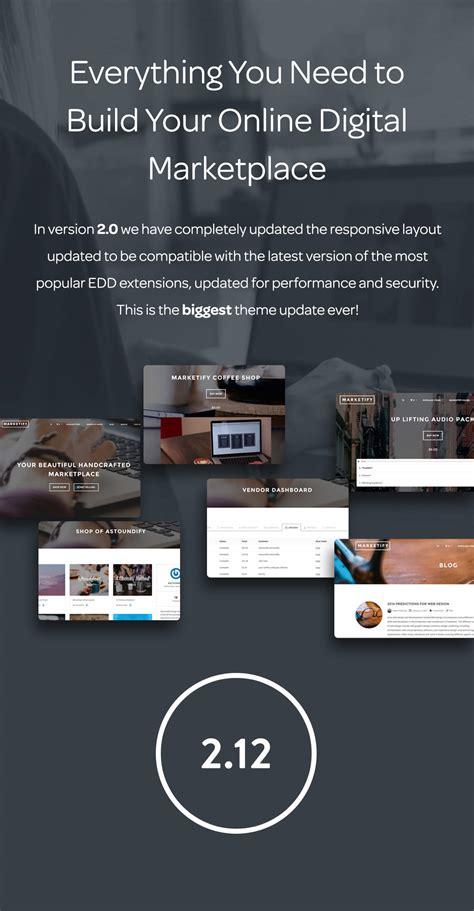 theme wordpress electronic marketify digital marketplace wordpress theme