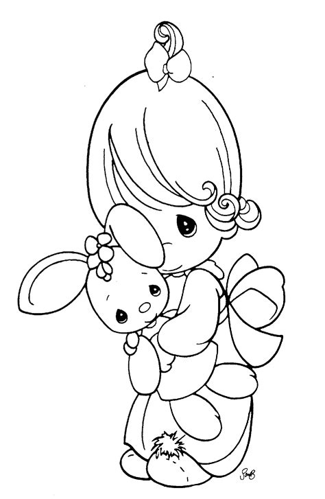 Free Printable Precious Moments Coloring Pages For Kids Print Color Page