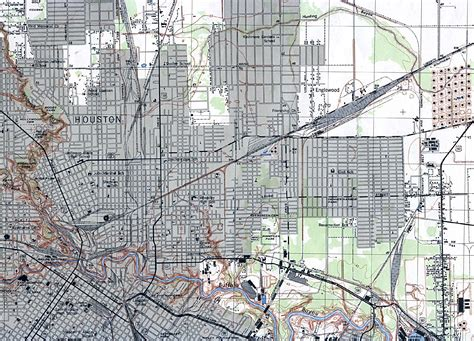 houston library map cities historical maps perry casta 241 eda map