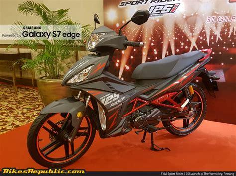 New Rider Sport R762b new sym sport rider 125i launched from rm5 777 bikesrepublic