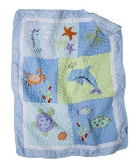 Seahorse Crib Bedding The Right On Vegan Baby Room Decorating Tiddliwinks The Sea