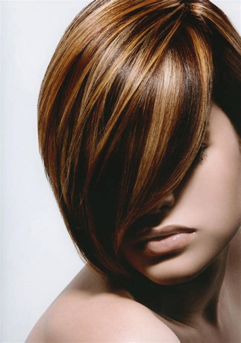multicolour highlights short hair colour ideas 2012 2013 short hairstyles