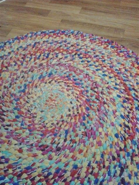 braided rag rugs no sew 78 best images about rugs on braided rug tutorial yarns and rope rug