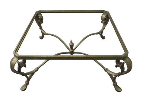Wrought Iron Coffee Table Base Wrought Iron Coffee Table Base Olde Things