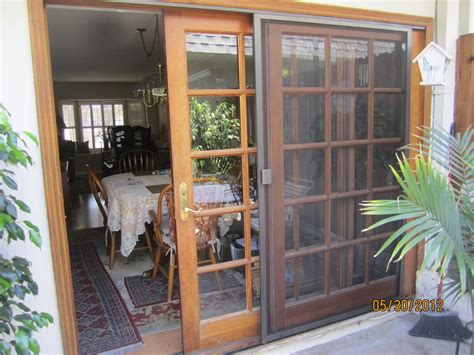 sliding patio screen door in sherman oaks window screens