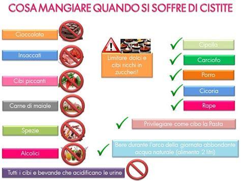 alimenti da evitare con la cistite 187 cistite cibi da mangiare