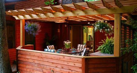 porche madera kit pergolas jardin de madera una zona de recreo ideal