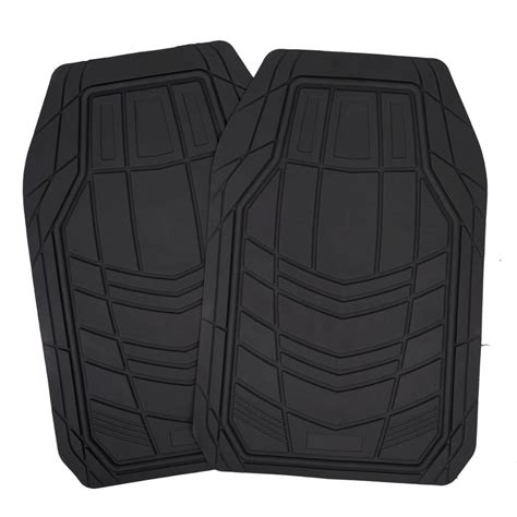 seat covers and floor mats black synth leather car seat covers 4pc rubber floor
