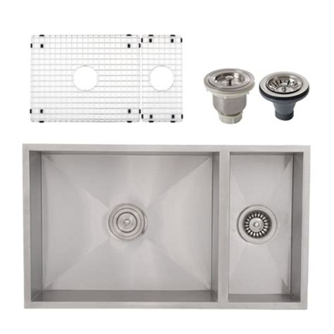 square sinks kitchen ticor s6502 undermount stainless square kitchen sink
