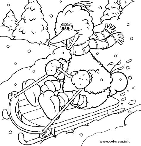 sesame street esqui sesame street printable coloring pages