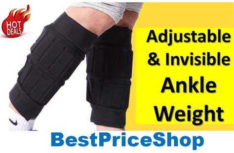 Adjustable Ankle Weight 3kg Sport Pioner adjustable invisible ankle weight end 4 1 2019 5 27 pm