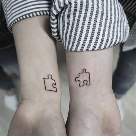 cute simple tattoos 19 puzzle designs ideas design trends premium