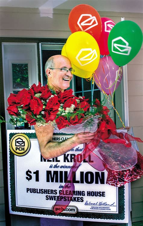 Publishers Clearing House Items - castle rock man wins 1 million from publishers clearing house