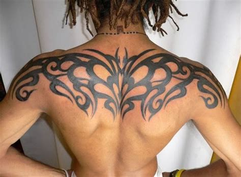 tribal tattoo for back and shoulder back and shoulder tattoos for this entry was