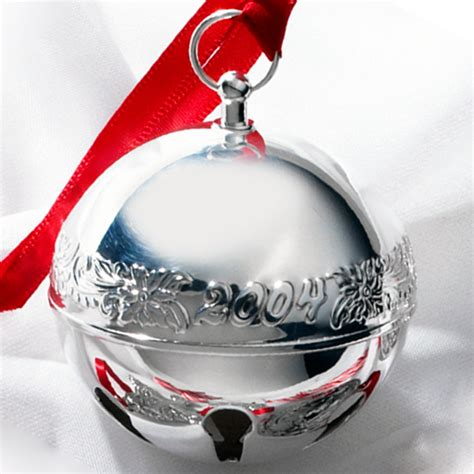 wallace silver bell 2018 2004 wallace sleigh bell silverplate ornament sterling collectables