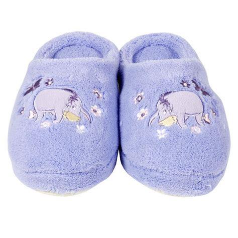 eeyore slippers disney eeyore winnie pooh terry slippers size 5 6 new