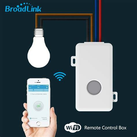 broadlink remote control wifi switch smart home