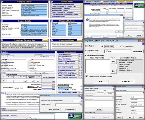 Excel Invoice Template Fileforum Excel Crm Template Format