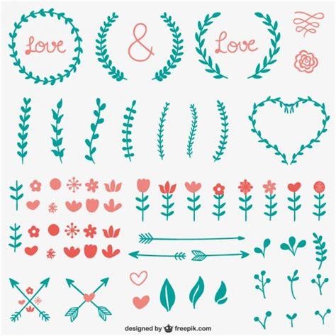 www ornaments einfache kalli ornamente der kostenlosen vektor