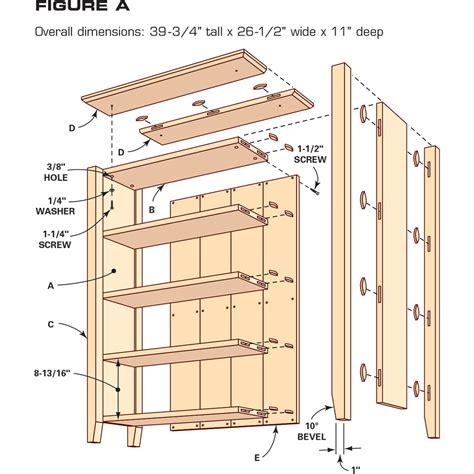 simple diy bookshelf plans  family handyman