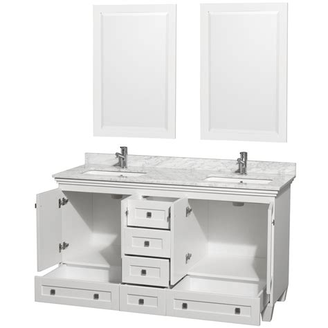 60 Inch Vanity With Top by Home Decor 60 Inch White Bathroom Vanity Ceiling Mounted