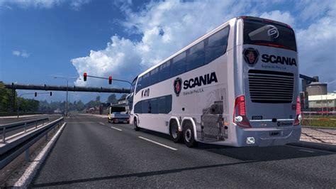 download game ets2 mod bus ets 2 g7 dd bus mod simulator games mods download