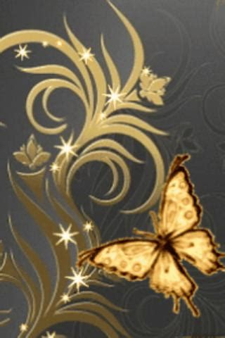 wallpaper gold butterfly great butterfly gold live wall android apps on google play