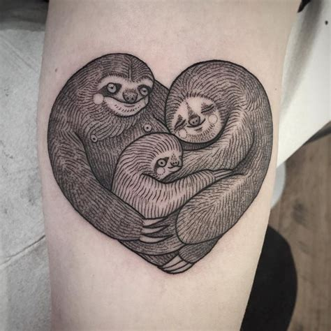 sloth tattoo best 25 sloth ideas on
