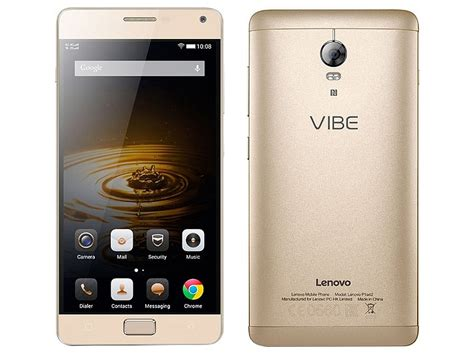 Lenovo Vibe P2 Turbo Lenovo Vibe P1 Turbo Launched With A 5000mah