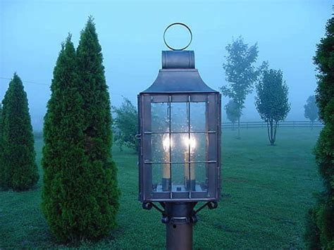 early american exterior lighting 1000 images about lposts on pinterest copper lantern