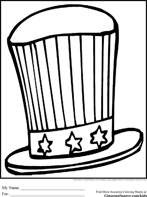 silly hat coloring page crazy hat pages coloring pages