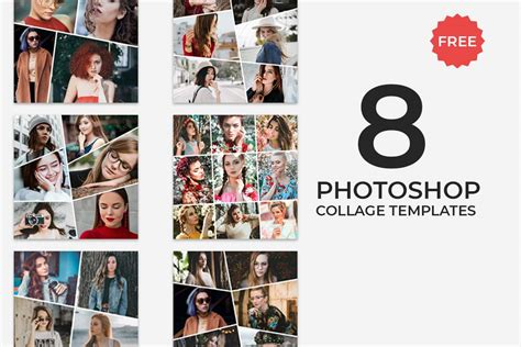 Photoshop Template Collage by 8 Free Photoshop Collage Templates Creativetacos