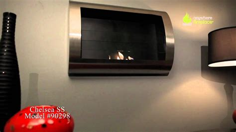 anywhere fireplace ventless fireplaces anywhere fireplace chelsea stainless steel ventless bio