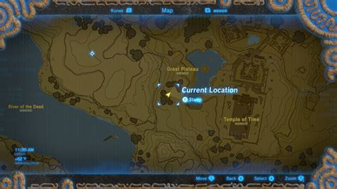 switch map legend of breath of the how to get warm
