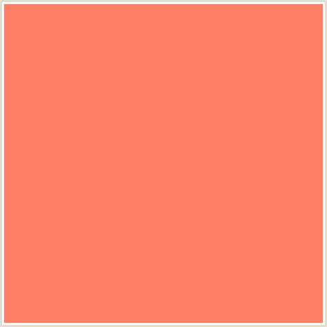 colors that go with salmon ff8066 hex color rgb 255 128 102 red orange salmon