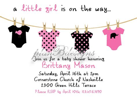 editable templates for baby shower invitations onesie clothesline baby shower invitation colors editable