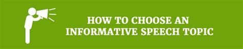 how to choose dissertation topic a list of informative speech topics only awesome ideas