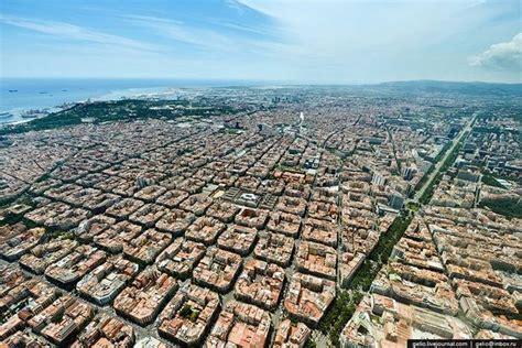 barcelona aerial view pix guru aerial view of eixle barcelona