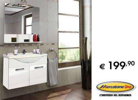 mercatone uno mobili da bagno bagno l interessante composizione proposta da mercatone