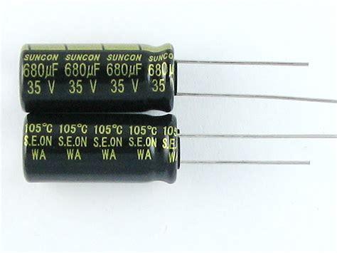 electrolytic capacitor memory effect 50me1000wa