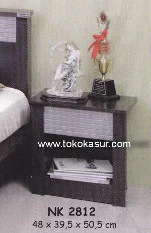 Ranjang Rak Sepatu Nakas Bedroom Set Mini nk 2812 toko kasur bed murah simpati furniture