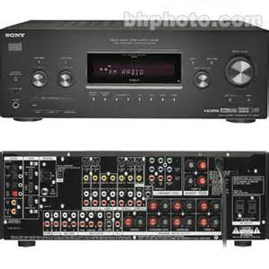 home theater receiver sony str dg800 home theater receiver strdg800 b h photo