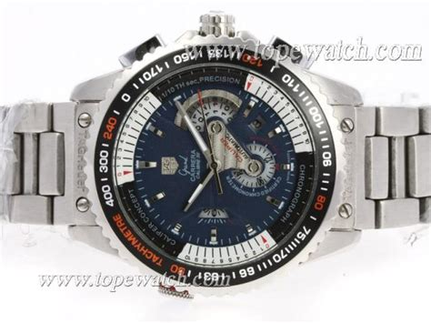 Promo Jam Tagheuer Grand Carerra Calibre 36 Stainless Steel Solid tag heuer grand calibre 36 automatic with blue s s replica watches