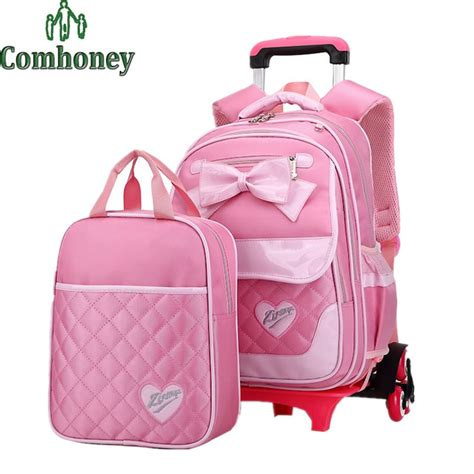 Tas Handbag Perempuan princess style children backpack for korean