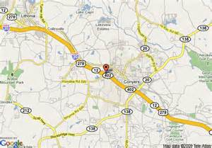 map of conyers map of ramada atlanta east conyers conyers