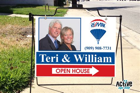 open house signs real estate custom real estate open house signs i active sign shop