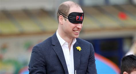 prince william prince william casually pitches a tent while blind folded