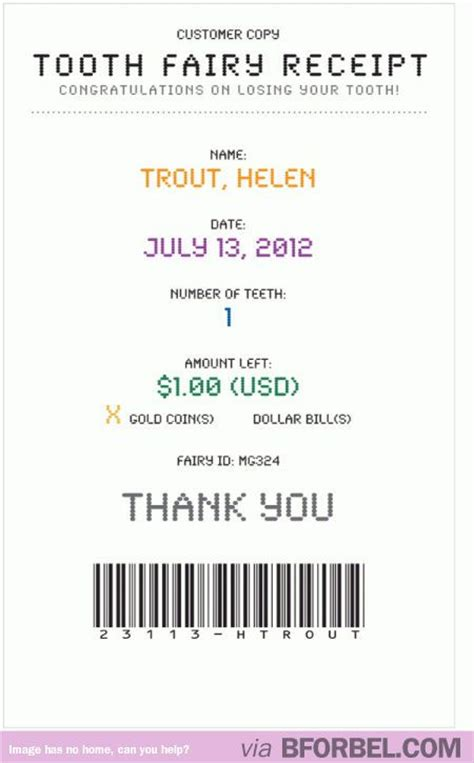 tooth receipt template editable 61 best images about on tooth