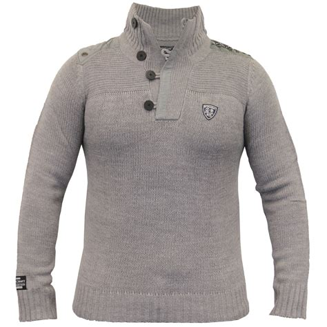 Sweater Dod Bro Jidnie Clothing mens jumpers rawcraft knitted top sweater pullover button winter new ebay